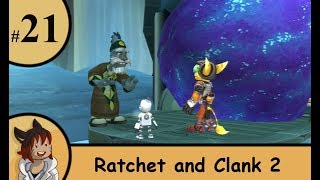 ratchet and clank 2 part 21 - the moon stones