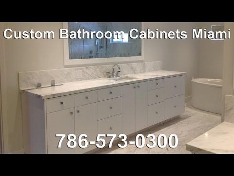 Bathroom Cabinets Miami custom bathroom cabinetsj&j cabinets of miami