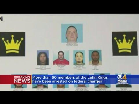 Dozens Of Latin Kings Gang Members Arrested In Massachusetts