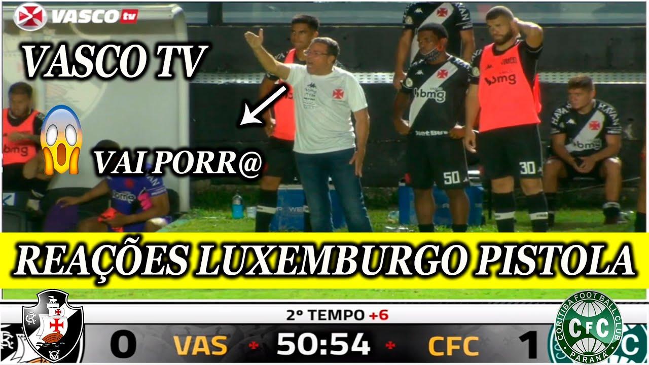 REAÇÕES VASCO TV | VASCO 0 x 1 CORITIBA BRASILEIRÃO 2020