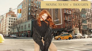 moving to nyc vlog + my initial thoughts