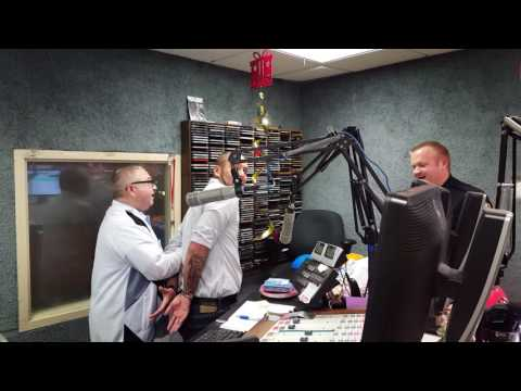 Jimmy Parrott Arrests Chad on WBKR Morning Show