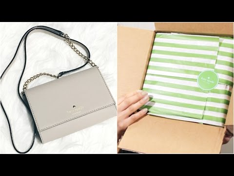 KATE SPADE UNBOXING | Mary Uribe