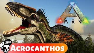Acrocanthosaurus - Pogromca T-Rexa w ARK Survival Evolved   Rizzer ARK Na Modach