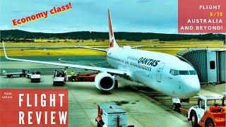 Review: QANTAS 737 Economy Class: Canberra to Adelaide!