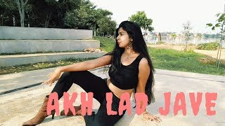 AKH LAD JAVE | Dance Video | Loveratri | Badshah | Dance Cover | Dance Choreography | Priya Oza