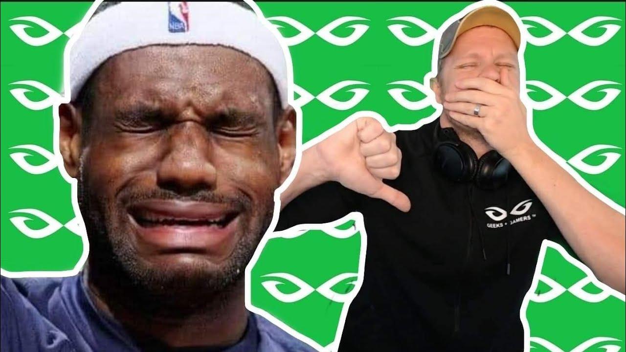 LeBron James Fan Gets DESTROYED During Livestream