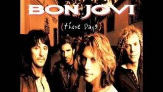 Bon Jovi - My Guitar Lies Bleeding In My Arms