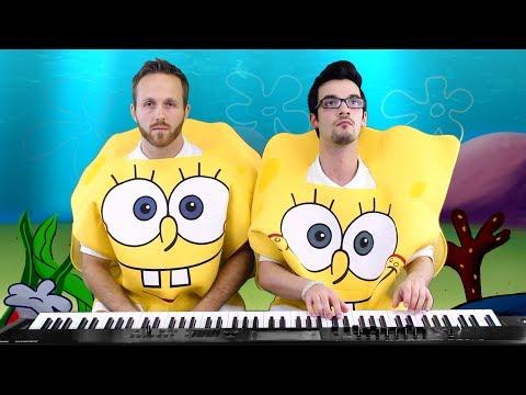 Spongebob Squarepants Medley (Part 2) | Frank & Zach Piano Duets