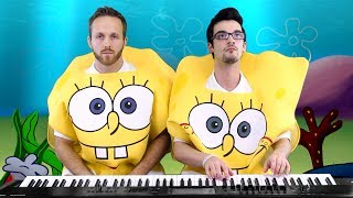 Spongebob Squarepants Medley (Part 2)   Frank & Zach Piano Duets