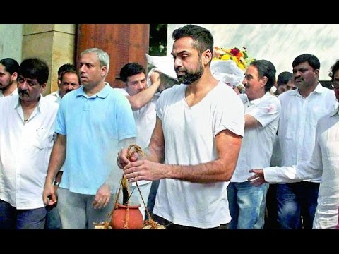 Bollywood mourns at funeral of Abhay Deol's father Ajit Singh Deol  SpotboyE