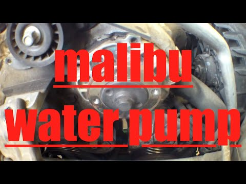 How To Install A Water Pump Gm Chevrolet 3 5l 3 7l