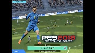 3 GOALS FOR COUTINHO! PES 2018 Pro Evolution Soccer/Football #11 - Lvl. 2 London FC vs London FC