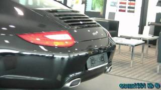 Limited edition Porsche 911 Black Edition - one out of 1911 - 1080p