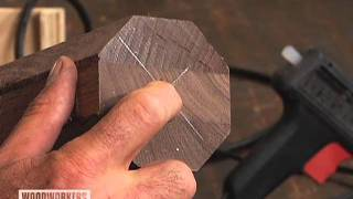 Woodworking Tips Router - How to Turn a Cylinder with a Router