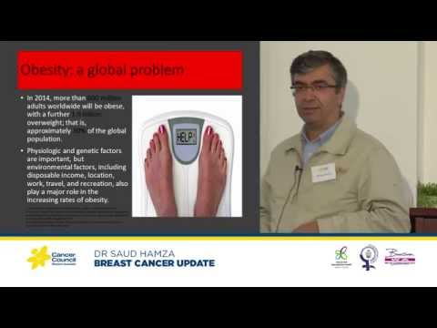 Breast cancer update and the effect of obesity on surgical outcomes - Cancer Council WA