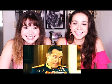 THE DEATH OF STALIN | International Trailer #1 | Reaction w/ Natalia!