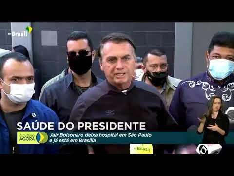 O PRESIDENTE JAIR M. BOLSONARO JÁ ESTÁ EM BRASÍLIA