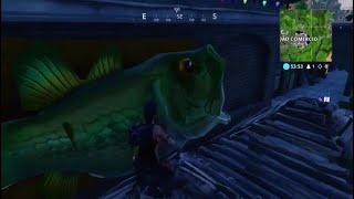 *new* bug the fish that sees you invisible fortnite battle royale