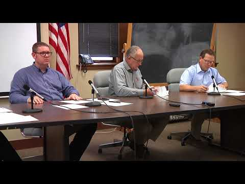 Mahaska County Board of Supervisors Meeting for December 18, 2017