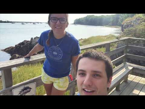 """Go """"Door To Dock"""" With Jacob And Clancy: The University Of New England"""