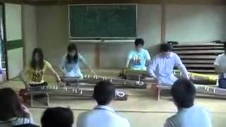 the first time play Japanese koto, so different between Chinese ziter.