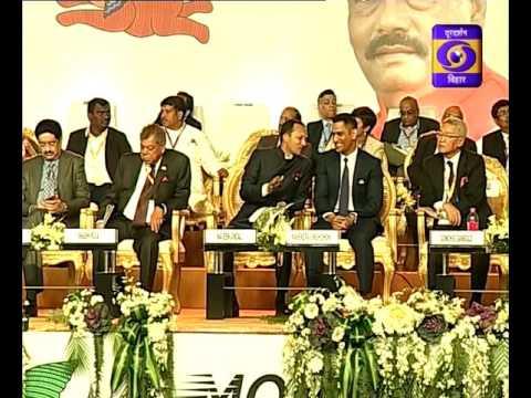 "FM Arun Jaitley addresses Global Investor's Summit, ""Momentum Jharkhand"""