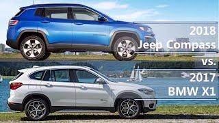 2018 Jeep Compass vs 2017 BMW X1 (technical comparison)