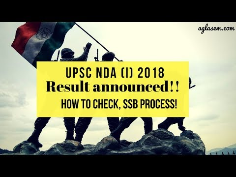 UPSC NDA (I) Result | How to Check | SSB Interview Process