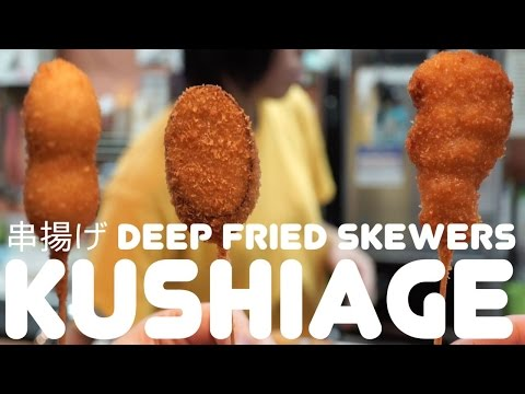 Thumbnail: Kushiage: Magic Deep Fried Sticks