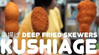 Kushiage: Magic Deep Fried Sticks