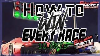 How to WIN every race with this trick in Full Throttle | Roblox