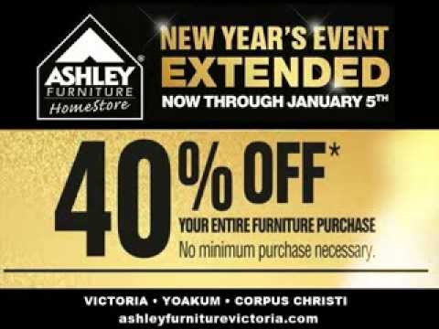 Ashley Furniture New Years Event