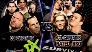 survivor series 2006 team dx vs team rated rko