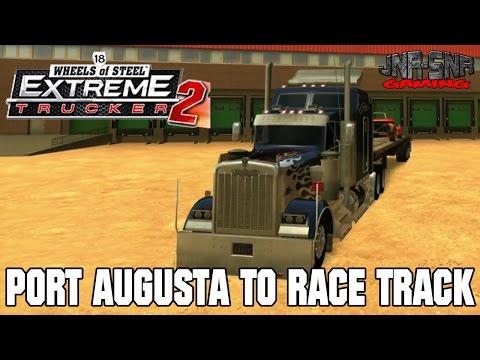 18 WOS ET2 | Port Augusta to Race Track | RACE CAR
