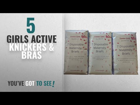 Top 10 Girls Active Knickers & Bras [2018]: Emma Jane Disposable Hospital Briefs (3, 10/12)