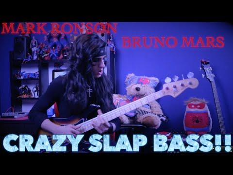 Uptown Funk - CRAZY SLAP BASS!