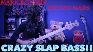 Uptown Funk - CRAZY SLAP BASS!