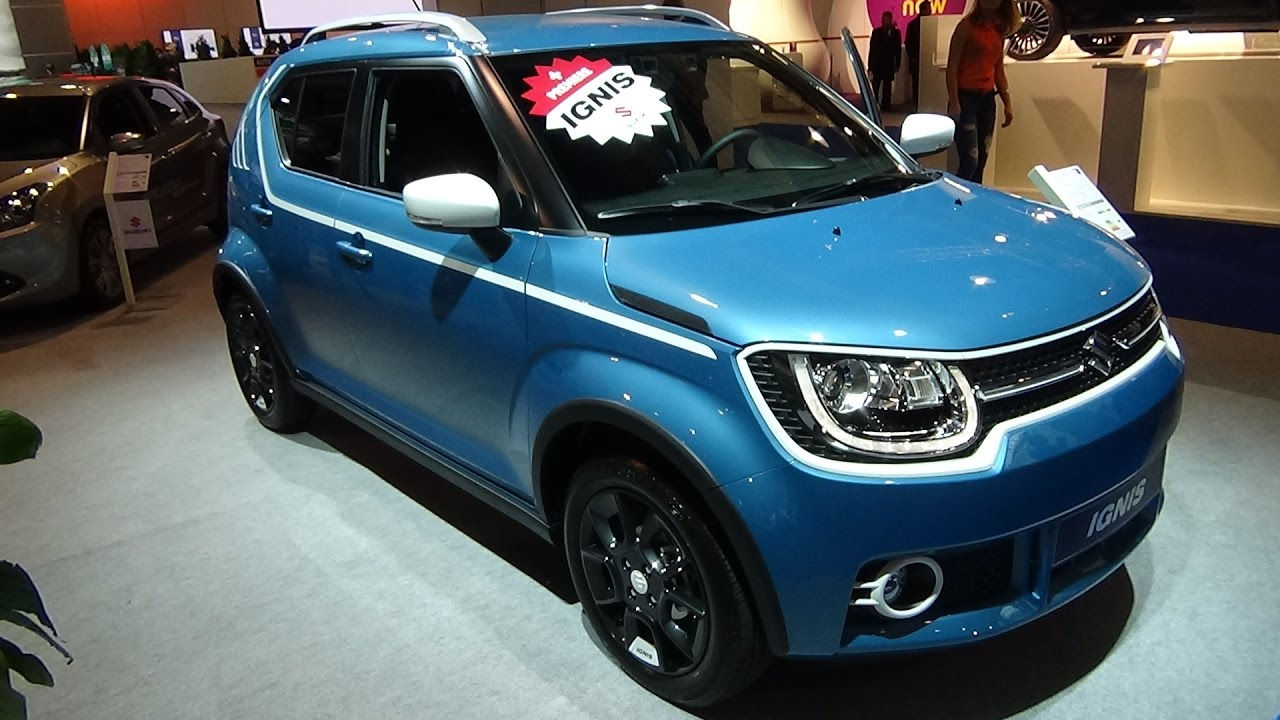 2017 Suzuki Ignis Compact Top Hybrid