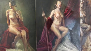 Venetian Figure Painting by Thomas Garner Class Demo