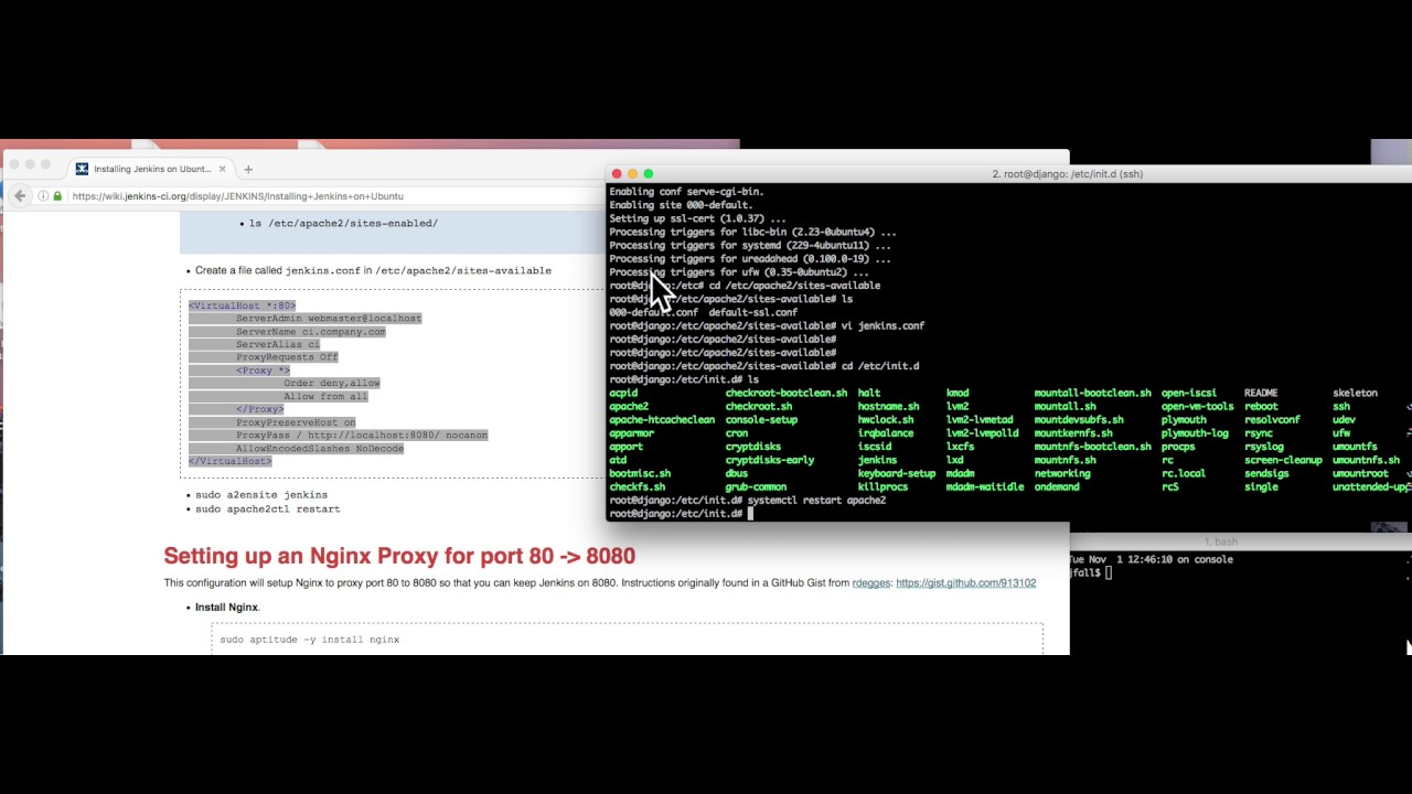 Installing Jenkins on Ubuntu 16 04 in 5 minutes flat