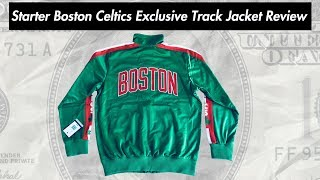 Starter Boston Celtics Exclusive NBA Track Jacket Review