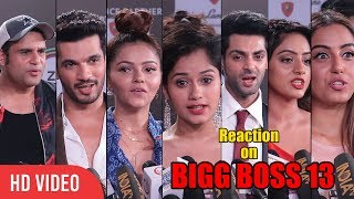 Rashami Desai Ex Husband and Top Television Celebrity Reaction on Bigg Boss 13
