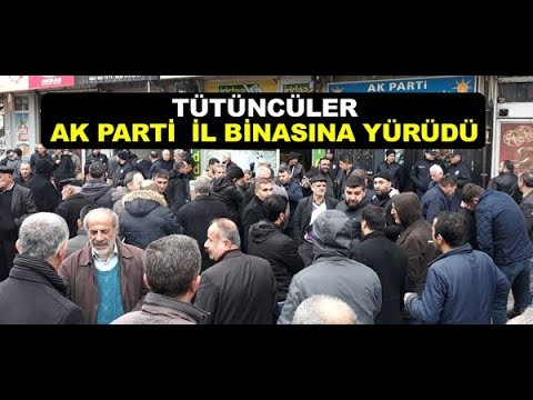 Tütüncüler AK Parti Malatya İl Binasına Yürüdü