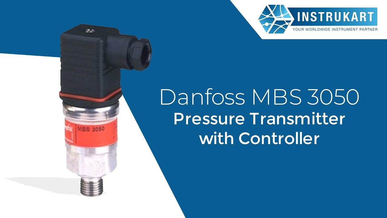 Danfoss Pressure Transmitter Mbs 3000 Wiring Diagram Club Car Precedent Horn 3050 With Controller Youtube