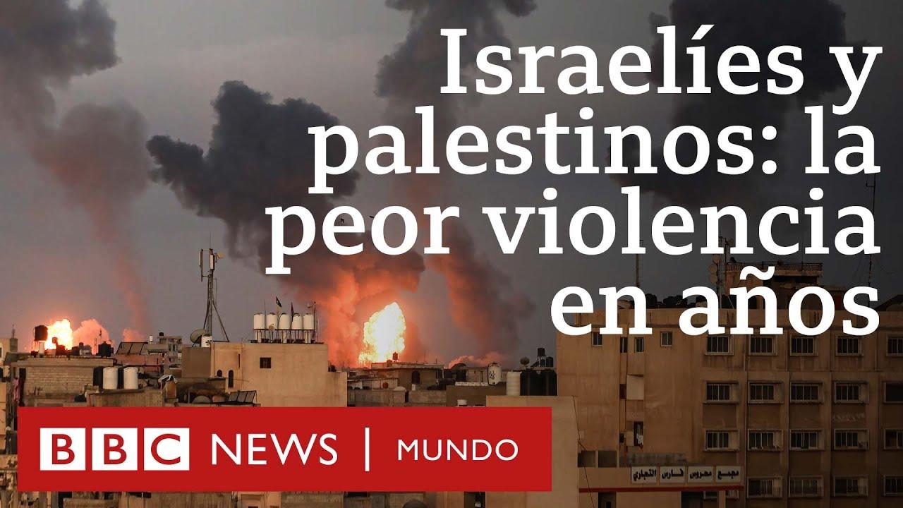 Las imágenes de la escalada de violencia entre israelíes y palestinos | BBC Mundo
