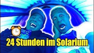 24 STUNDEN IM SOLARIUM !!! 😡 (Extrem Verbrannt)