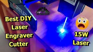 Ortur 15W Laser Master DIY Desktop Laser Engraver Laser Cutter