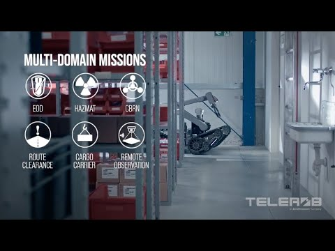 Telerob Unmanned Ground Vehicles Overview