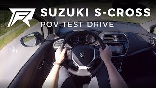 2018 Suzuki S-Cross 1.0 Boosterjet - POV Test Drive (no talking, pure driving)